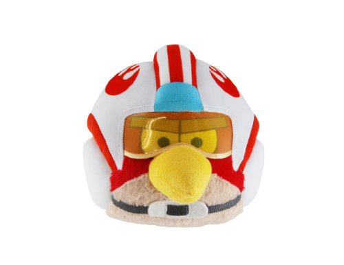 "Angry Birds Star Wars Luke 16"" Plush with Sound"
