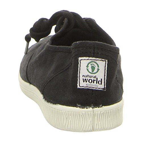 Natural World Eco 612E Damen Sneaker 623 Grau Negro