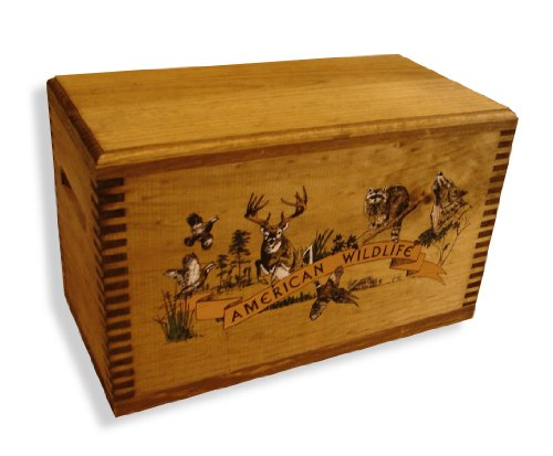 Hunting Box - Evans Sports Accessory Case, Colored Wildlife Collage