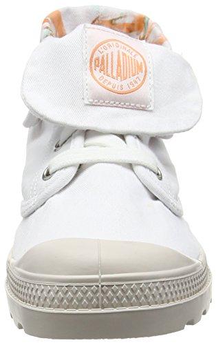 Palladium Damen Baggy Low Lp Tw P Combat Boots Weiß