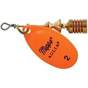 Mepp's Aglia Spinners, Plain, hot orange,...