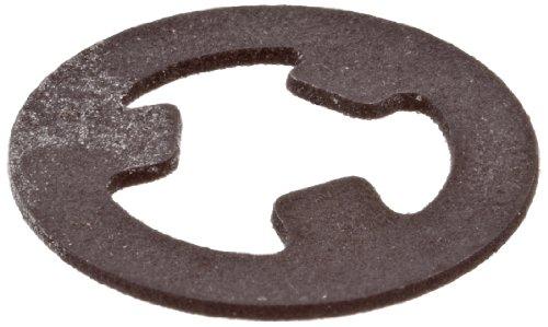 [해외]외부 고정 링, 자체 고정식, 축 방향 조립품, 1060-1090 탄소강, 일반 피니시, 인치/External Retaining Ring, Self-Locking, Axial Assembly, 1060-1090 Carbon Steel, Plain Finish, Inch