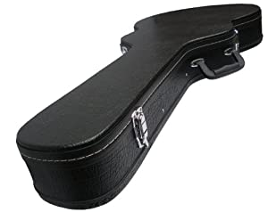 hardcase slim jazz type electric semi acoustic guitar hard case 335 etc fully padded and lined. Black Bedroom Furniture Sets. Home Design Ideas
