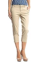 Dockers Ideal Capri Pantalones para Mujer