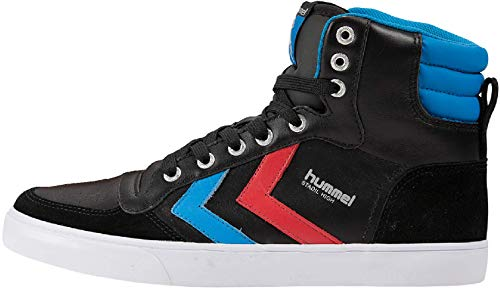 High gum Scarpe Adulto Black Unisex 666 da blue ginnastica Stadil red Hummel 63 2640 5xvgnqw1v