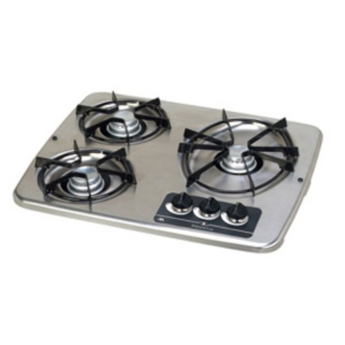 Atwood 56472 Stainless Drop - in 3 - Stove Cover Individual Steel