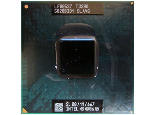 (Intel Pentium T3200 SLAVG 2.0GHz 1MB Dual-Core Mobile CPU Processor Socket P 478-pin)