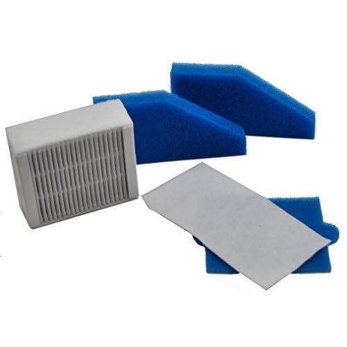 LeaBen® Kit de filtres pour aspirateur thomas Aqua + MULTI Clean x8Parquet, Aqua + Pet & Family, Perfect Air Animal Pure Comme 787241Kit, 787241