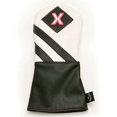 Callaway 2018 Ladies Vintage Golf Club Headcovers -Fairway - White/Black/Pink
