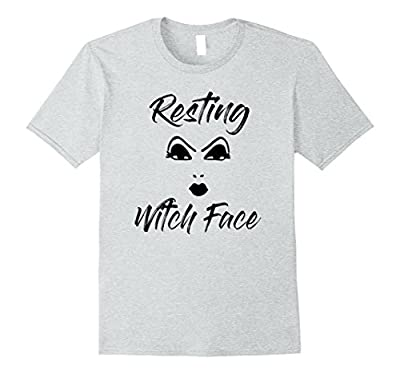 Resting Witch Face Funny Halloween T-Shirt