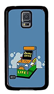 Samsung Galaxy S5 Nostalgic Game Consoles PC Custom Samsung Galaxy S5 Case Cover Black
