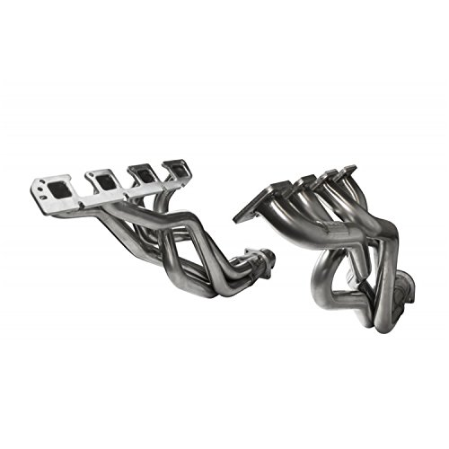 Connection Pipes Catted (Kooks Custom Headers 3100H410 Stainless Steel Headers 1 7/8 in. x 3 in. Long Tube Headers And 3 in. x 2 1/2 in. OEM Off Road Non Catted Stainless Connection Pipes Stainless Steel Headers)