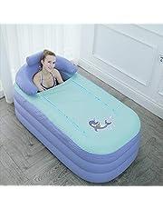 Foldable Bathtub Portable Soaking Bath Tub,Eco-Friendly Bathing Tub for Shower Stall