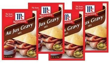 McCormick Au Jus Gravy Mix (1 oz Packets) 4 Pack