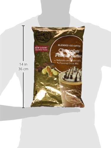 Big Train Blended Ice Coffee, Chocolate Peanut Butter, 3.5 Pound