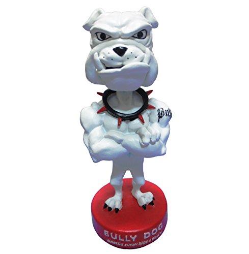 Bulldog Musclar Build Red Round Base Polyresin - Polyresin Base