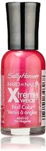 Sally Hansen Hard as Nails Xtreme Wear, Hot Magenta, 0.4 Fluid Ounce