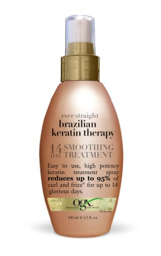 14 Day Treatment - OGX Ever Straight Brazilian Keratin Therapy 14-Day Smoothing Treatment 3.3oz