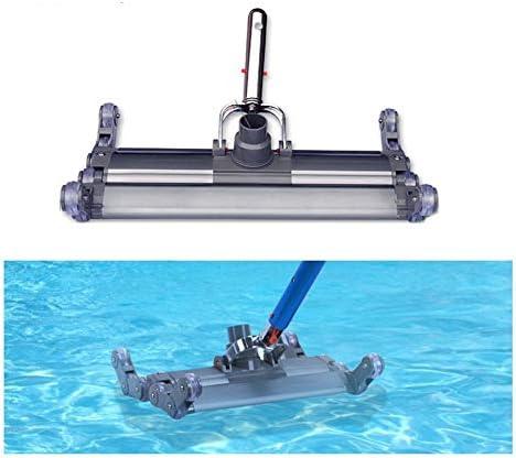 XIONGGG Pool Staubsauger Aluminiumlegierung 18 '' Deluxe Flexibles Staubsauger-Bürstenreinigungswerkzeug