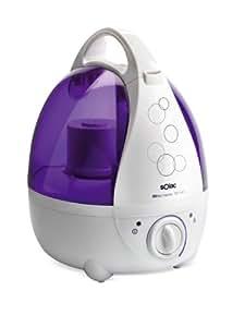 Solac HU1060, Violeta, Blanco - Purificador de aire
