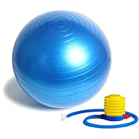 Anti Burst Exercise Ball - Extra Thick Stability Ball...