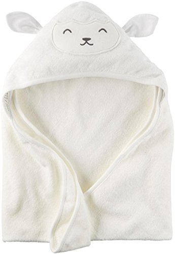 Carters Hooded Bath Towel Ivory product image
