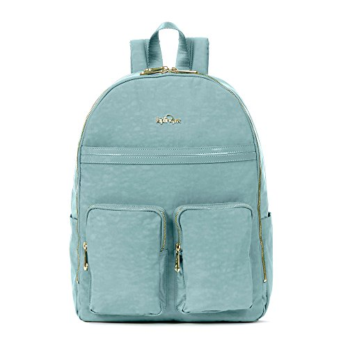Kipling Women's Tina Large Laptop Backpack One Size Sea Green by Kipling