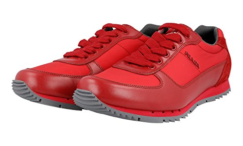 Prada Mens 4E2968 Leather Sneaker NDA48ZZLE0