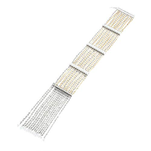 (Carolee Women's Bracelet 7.5In Flexible Chain with Fringe BRAC)