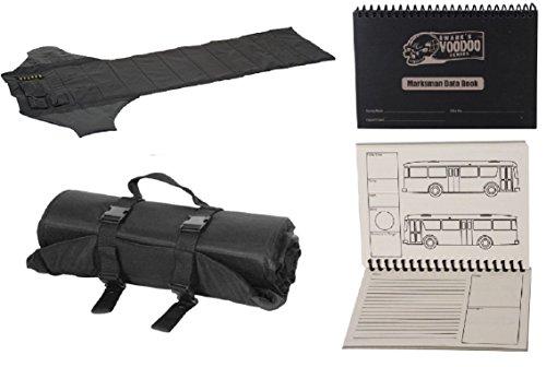 Sniper Shooting Mat - Roll Up Shooting Mat + Voodoo Tactical Data Book