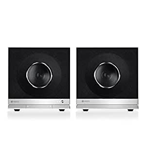 Raumfeld Stereo Cubes Wireless Streaming Speakers (Pair, White)
