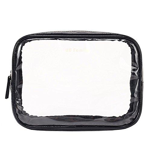 UU Family(UUのファミリ)エコ透明洗面具トラベル防水収納ポーチ (...