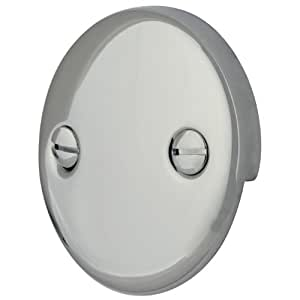 Kingston Brass Dtt101 Bath Tub Overflow Plate Polished