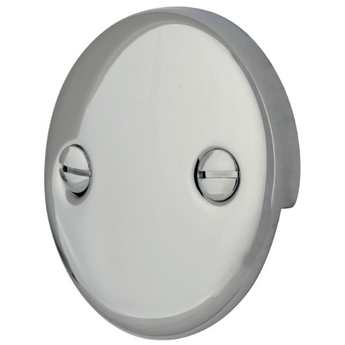 Kingston Brass DTT101 Bath Tub Overflow Plate, Polished Chrome