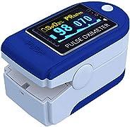 E T EASYTAO Oxímetro de Pulso de Dedo con Pantalla OLED, Monitor Digital de Frecuencia Cardíaca PR y Saturació
