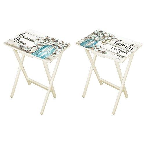 Cape Craftsmen Forever Home TV Trays, Set of -