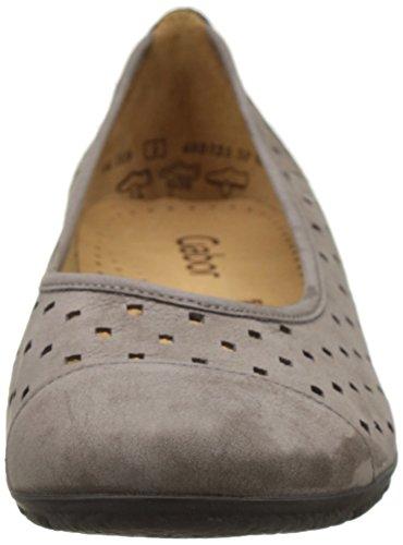 Gabor Shoes Fashion, Bailarinas para Mujer Marrón (fumo 13)