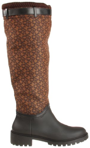 Dkny Womens Cascade Boot Marron Logo