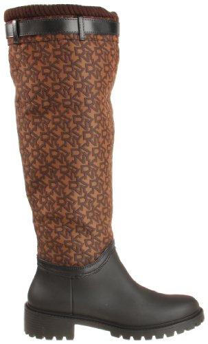 Dkny Womens Cascade Boot Marron Logo