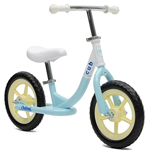 Critical Cycles Cub No-Pedal Balance Bike for Kids, Powder Blue