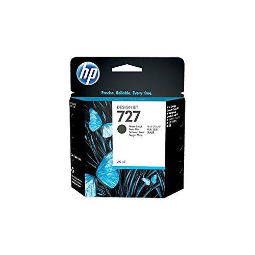 HP HEWC1Q11A 727 Ink Cartridge, Matte Black Standard Yield