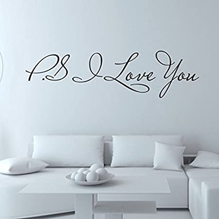 OTTATAT Wall Stickers for Girls 2019,Beautiful Removable Decal Art Vinyl Mural Home Room Decor Wall Stickers Easy to Stick Wedding Night Club Gift for Girlfriends Free Post On Sale