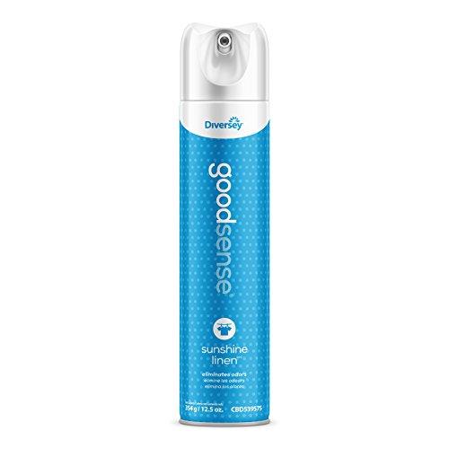 Diversey Good Sense Air Freshener - Water Based Odor Eliminating Spray - Sunshine Linen (6 Pack) by Diversey (Image #5)