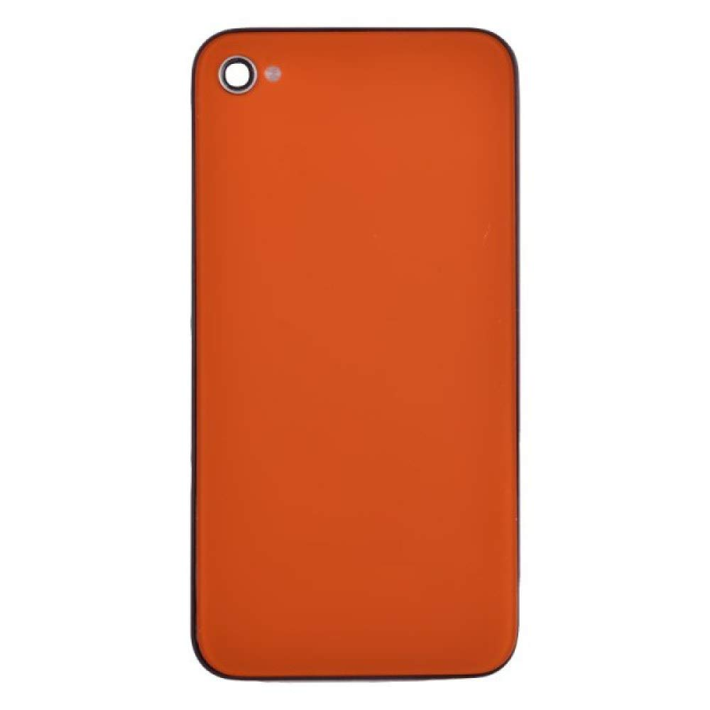 Door with Frame for Apple iPhone 4 (GSM) (Orange) with Glue Card