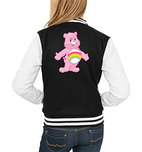 Old Rainbow Bear College Vest Girls Negro Certified Freak