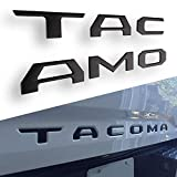 Automotive : CAR ROVER 3D Raised Tailgate Insert Letters for Toyota Tacoma 2016-2019 (Black Matte, Pack of 1)