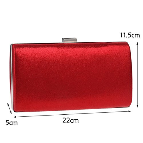 Evening Red Dinner bag Dress Gold Party Bag Fly Color evening Bag Clutch Banquet Party Fashion Bag zFxawAZaU