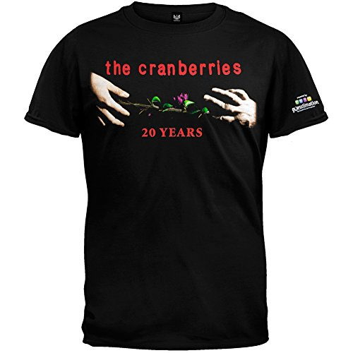 Old Glory Cranberries - Mens 20 Years 2009 Tour T-shirt 2x-large Black