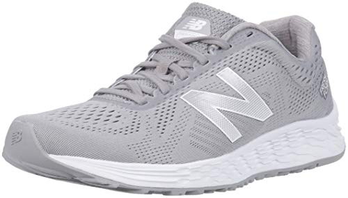 New Balance Men's Arishi V1 Fresh Foam Running Shoe, Grey/White, 11.5 4E US