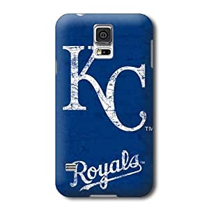 S5 Case, MLB - Kansas City Royals - Solid Distressed - Samsung Galaxy S5 Case - High Quality PC Case by supermalls